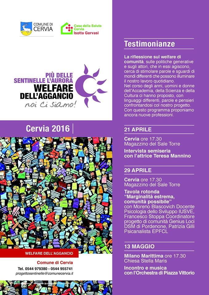 Welfare aggancio tavola rotonda