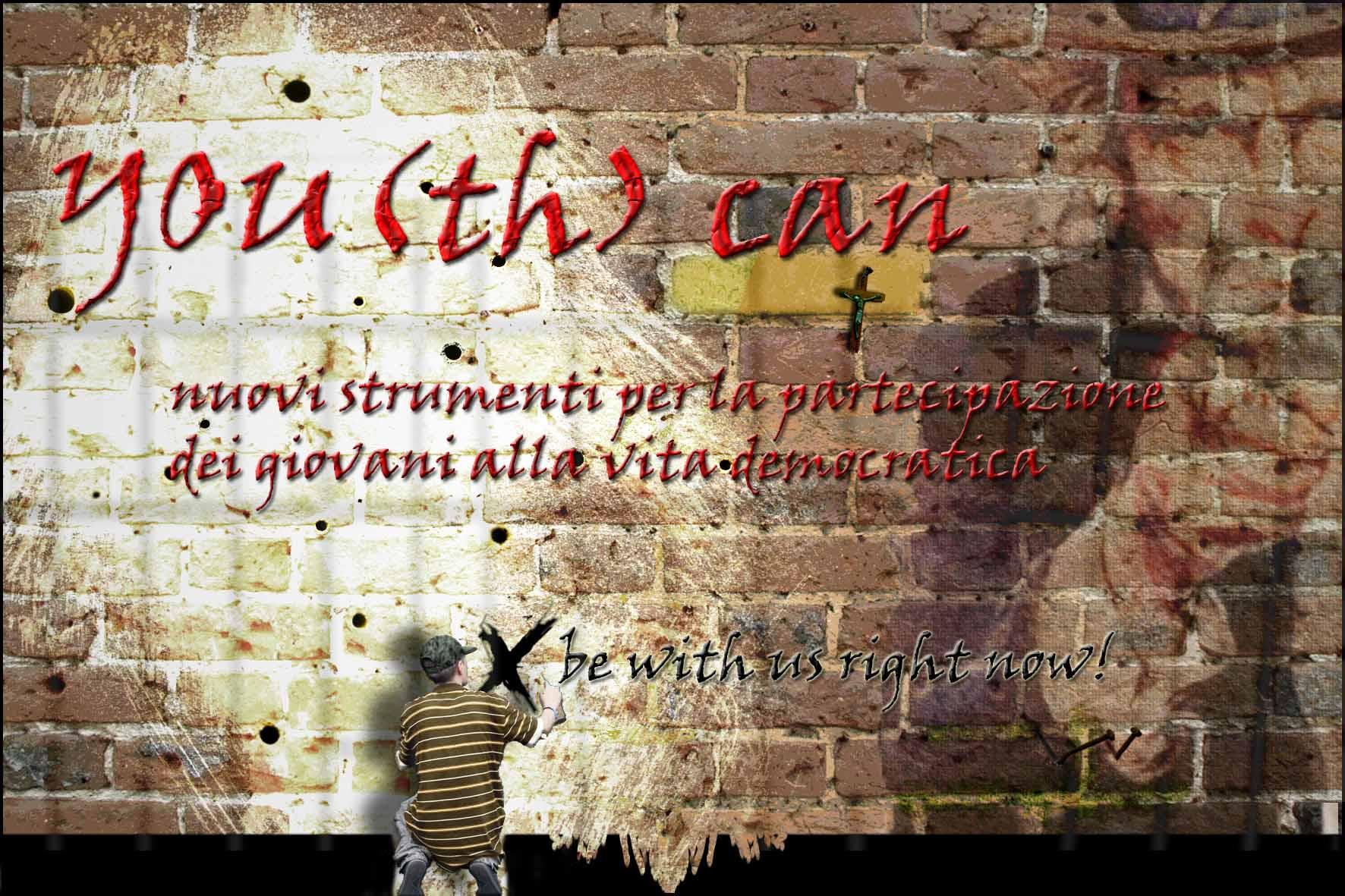 YOU(th) can - nuovi strumenti per la partecipazione dei giovani alla vita democratica