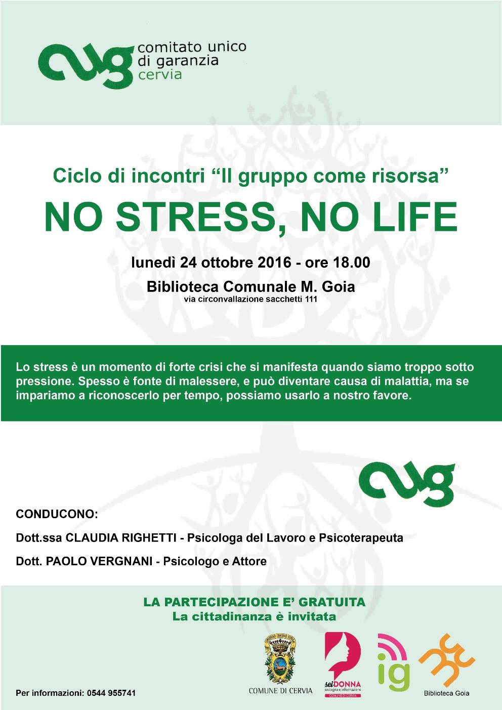 No stress no life
