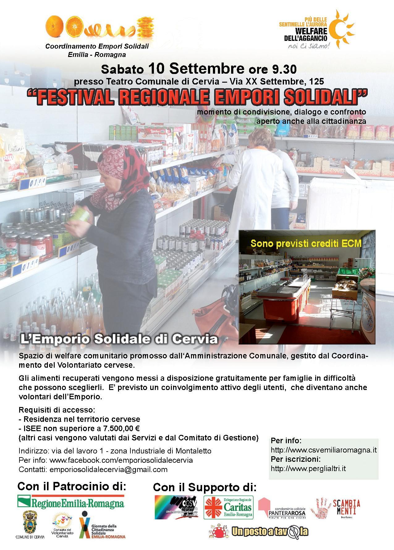 Festival regionale empori solidali