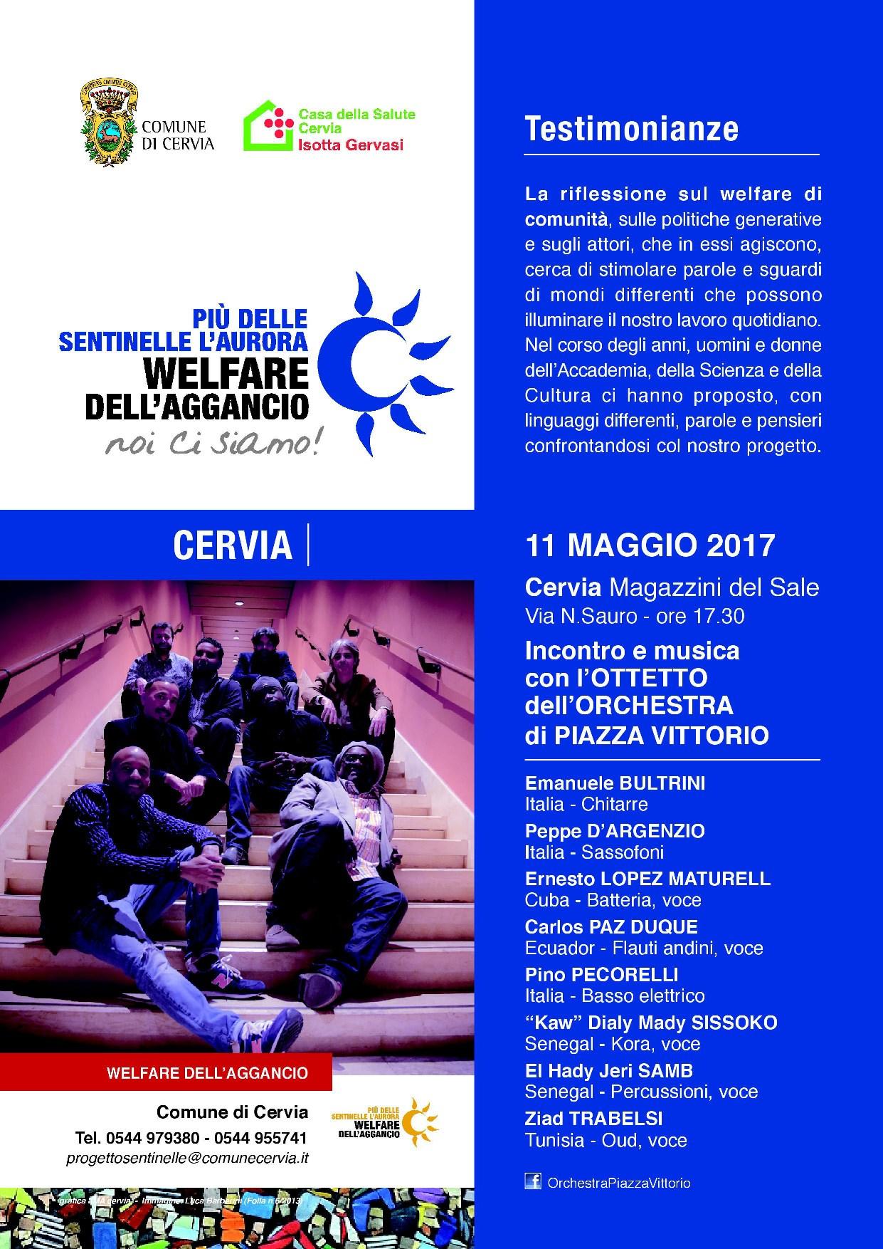 Concerto orchestra di Piazza Vittorio 11 maggio 2017
